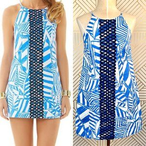 Lilly Pulitzer Annabelle Shift Dress Bay Yacht